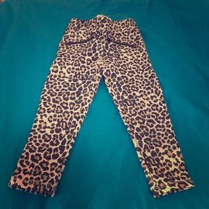 childrens place Bottoms - Toddler leopard pants.